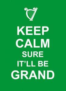 keep calm sure